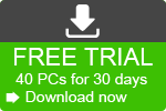 Download your free trial on 40 PC's for 30 days here